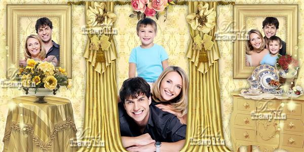 Семейная фото книга - Вместе всегда