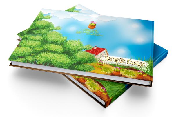 Дизайн Обложки выпускного фотоальбома в Детский сад