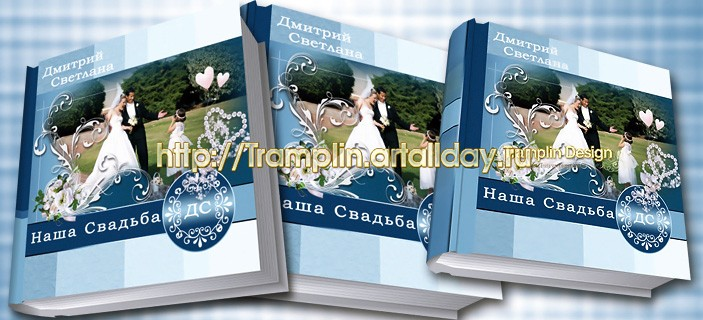 Свадебная фото книга - Над нами голубое небо