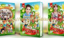Выпускной альбом в детский сад Группа Клубничка