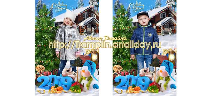 Коллаж - Почему же Новый год очень любят дети