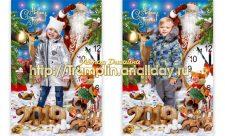 Коллаж - Дед мороз спешит скорей к чуду новогоднему