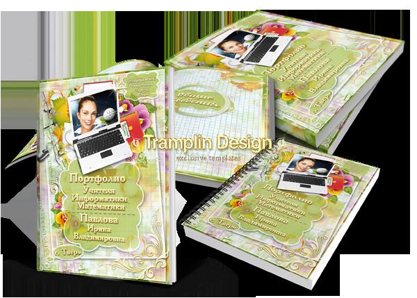 Дизайн Портфолио Учителя информатики или математики