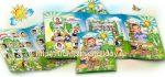 Выпускной макет папки трио Детский сад «Берёзка»